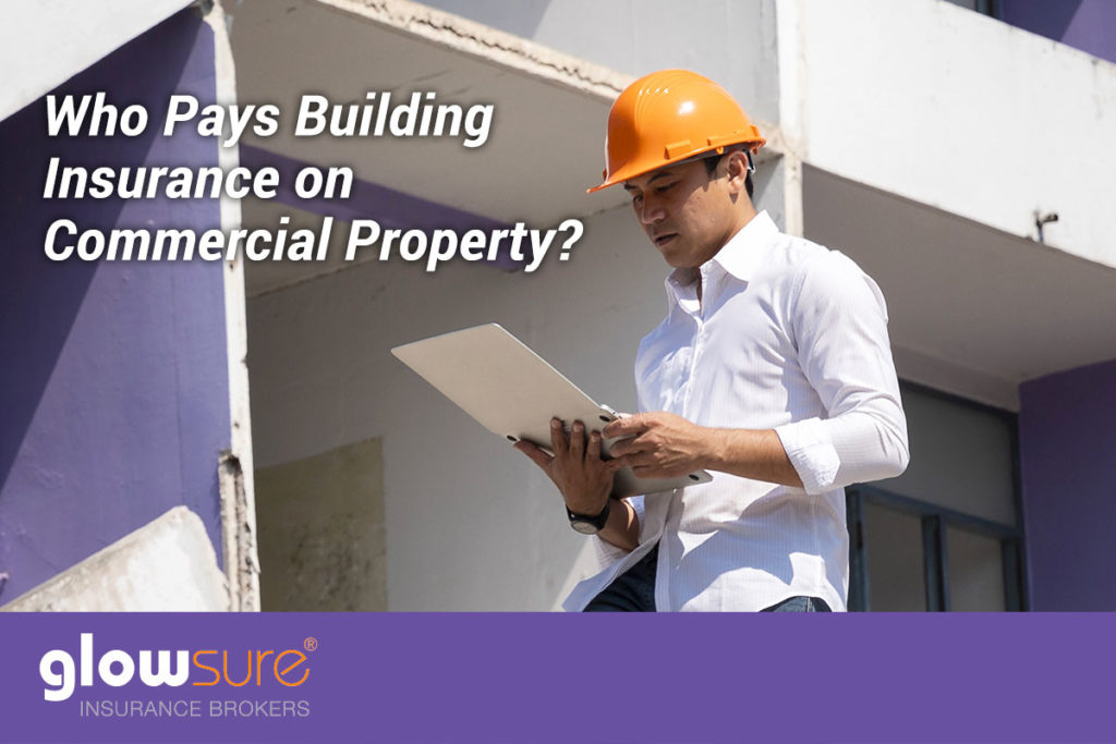 who pays for insurance on commercial property